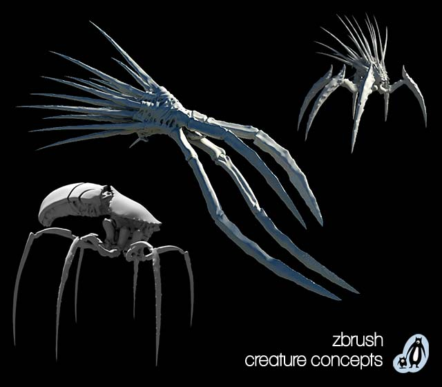 ZBrush-Creature-Concept